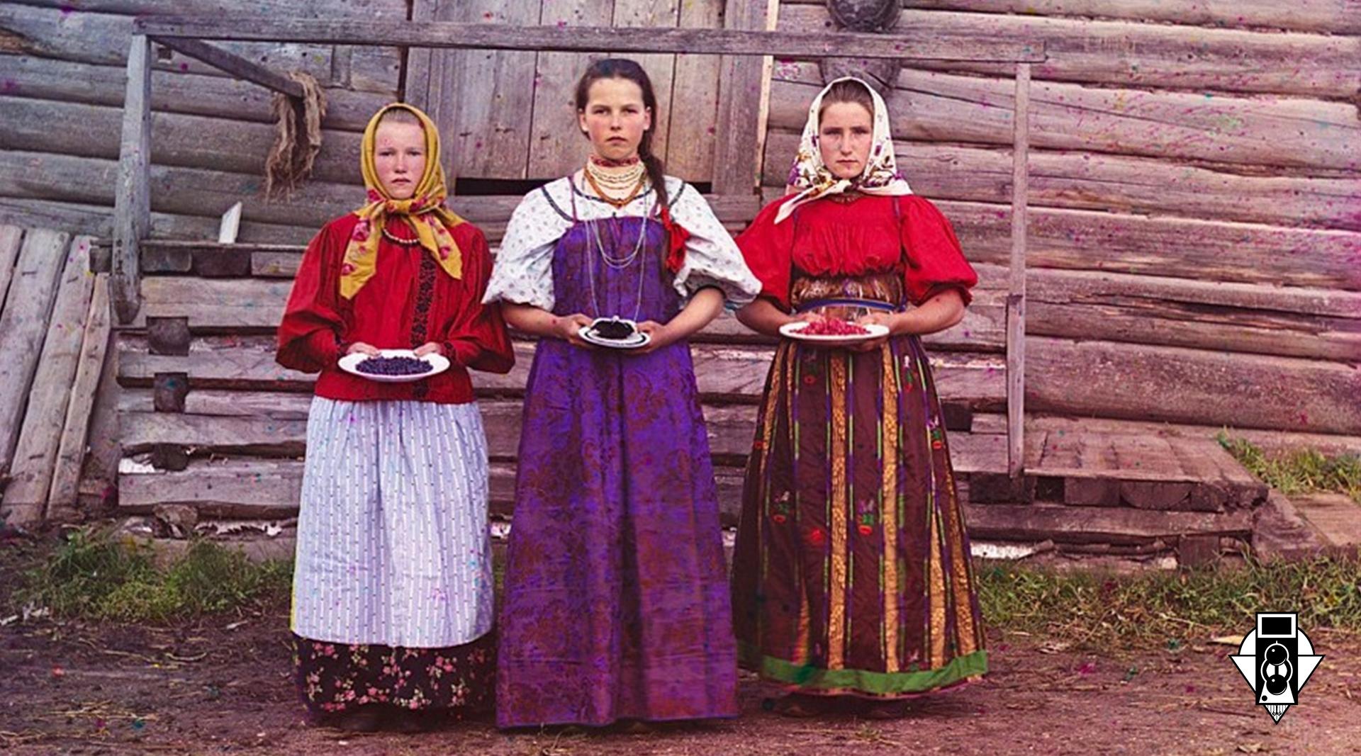 Пионер цветной фотографии в России С. М. Прокудин-Горский