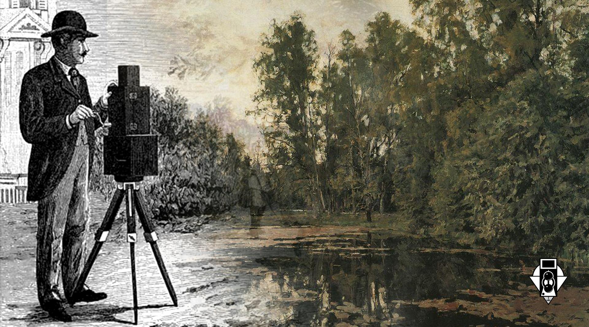 """Цветная фотография и живопись. Журнал """"Фотограф-Любитель"""" 1908г."""