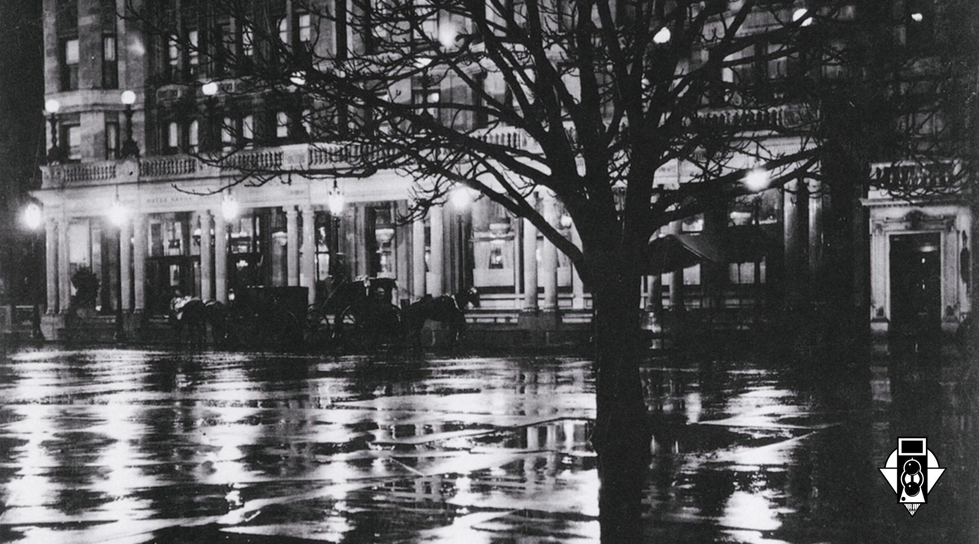 Фотографирование ночью. Вестник ОФО 1913 год