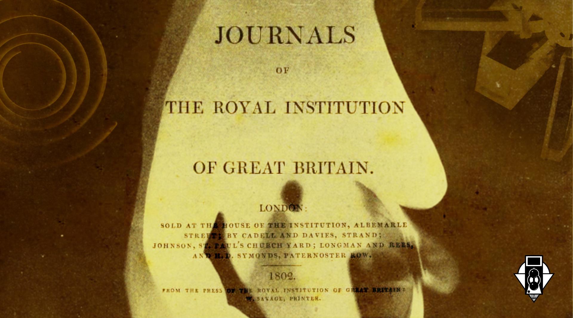 Доклад о методе копирования изображений на стекло. 1802 г. Т. Веджвуд, Х. Дэйви