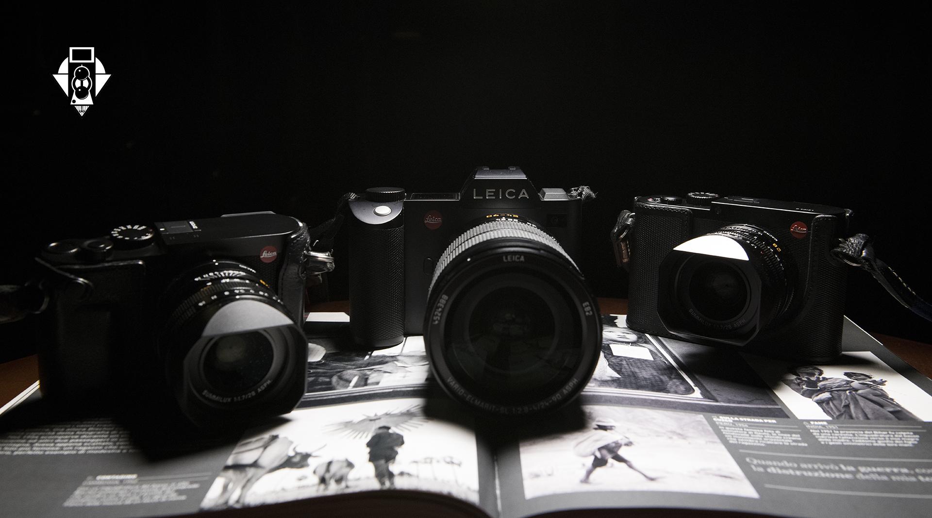 Leica Q и SL на передовой современных технологий