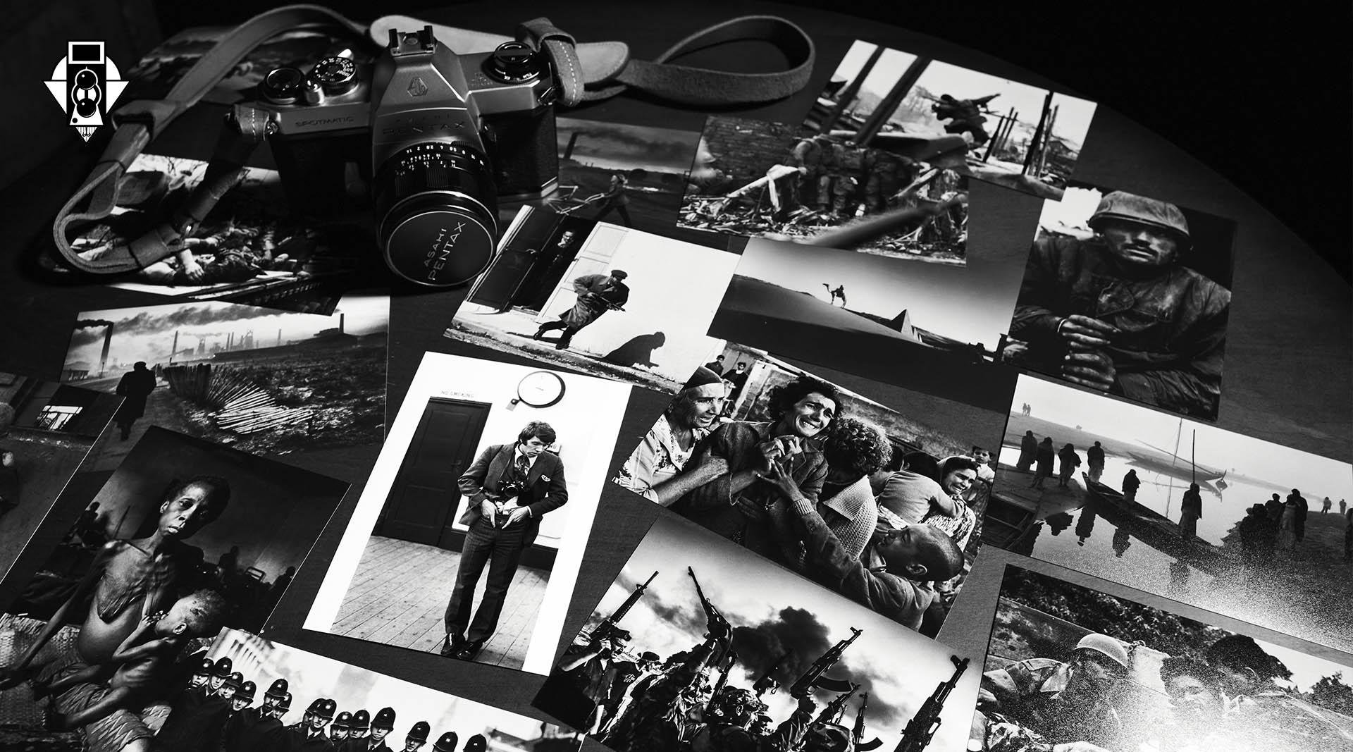 Легенда фотожурналистики, военный фотограф Дон Маккаллин